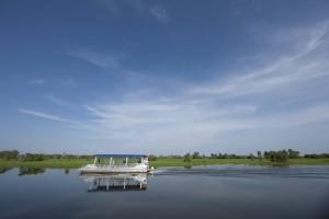 Cruising on Yellow Water
